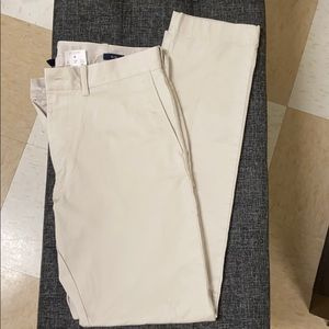 Cream J.Crew pants. New Condition with tags.